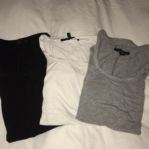 WHBM Scoopneck T-Shirts